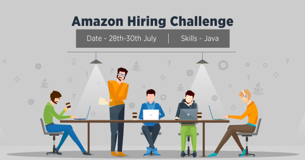 Amazon Hiring Challenge | Developer jobs in July, 2017 on