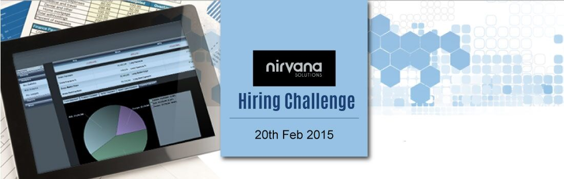 Nirvana Solutions Hiring Challenge | Developer jobs in February